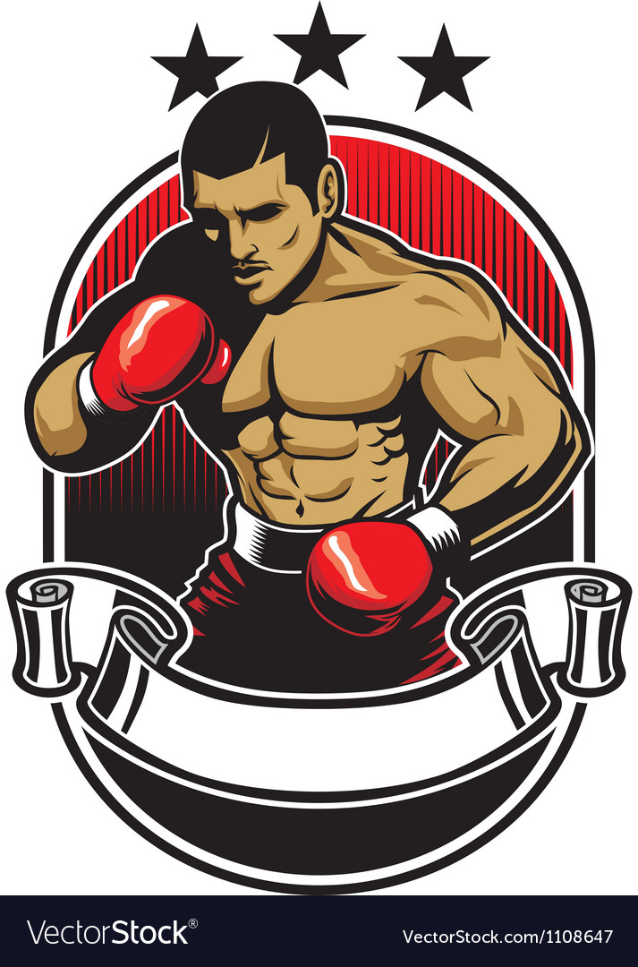 Boxing athlete