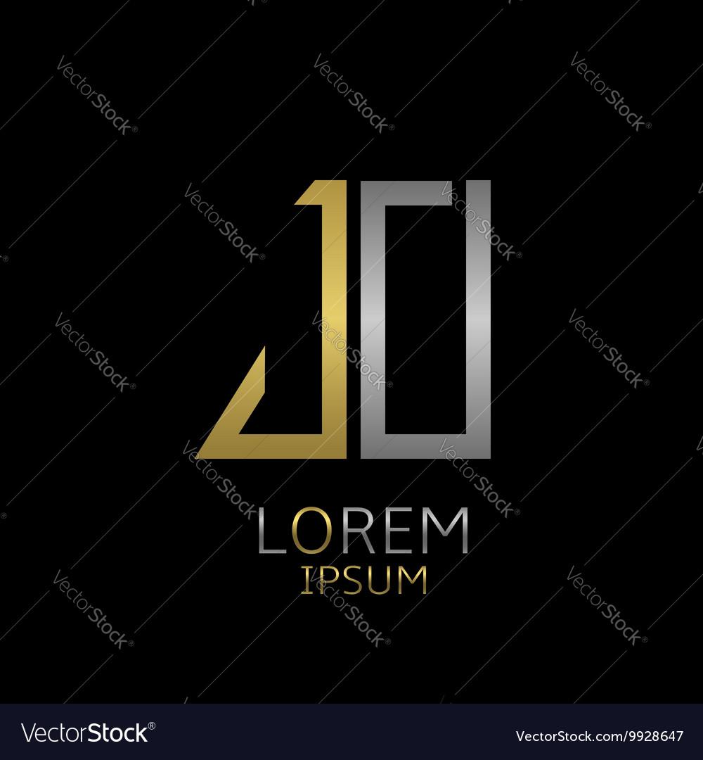 JO letters logo
