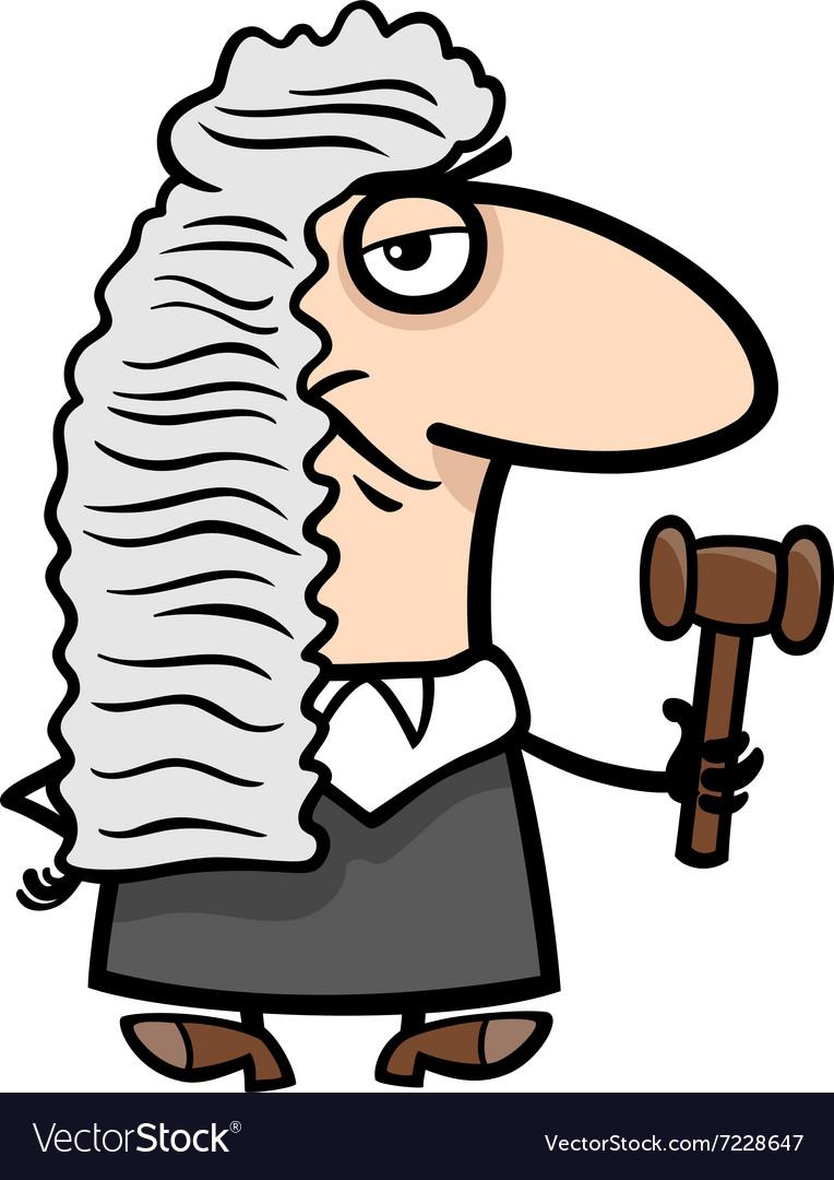 Judge cartoon