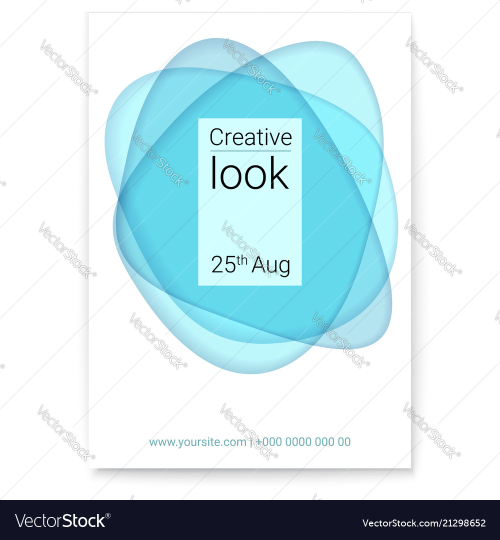 Creative look at multi layers forms cover