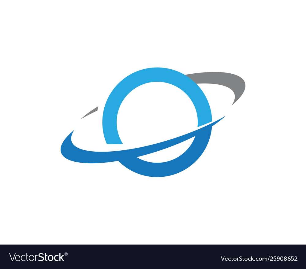 Planet globe icon design vector