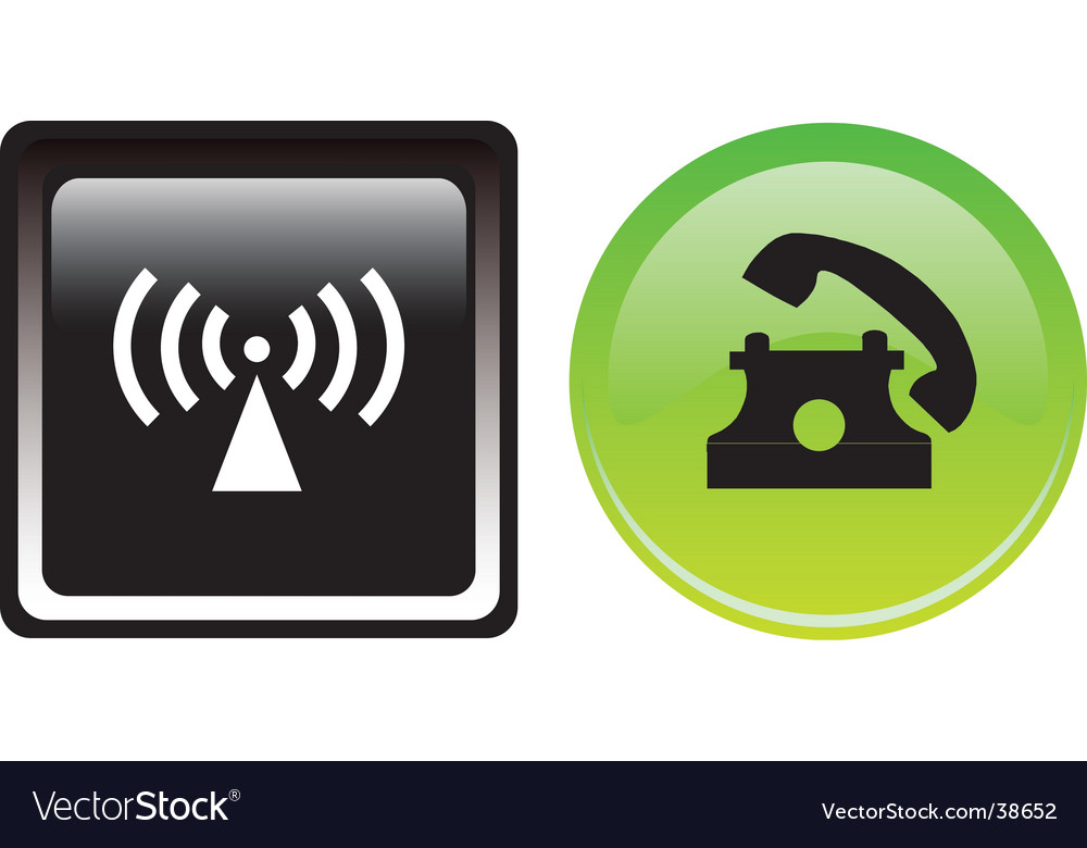 Two communication buttons