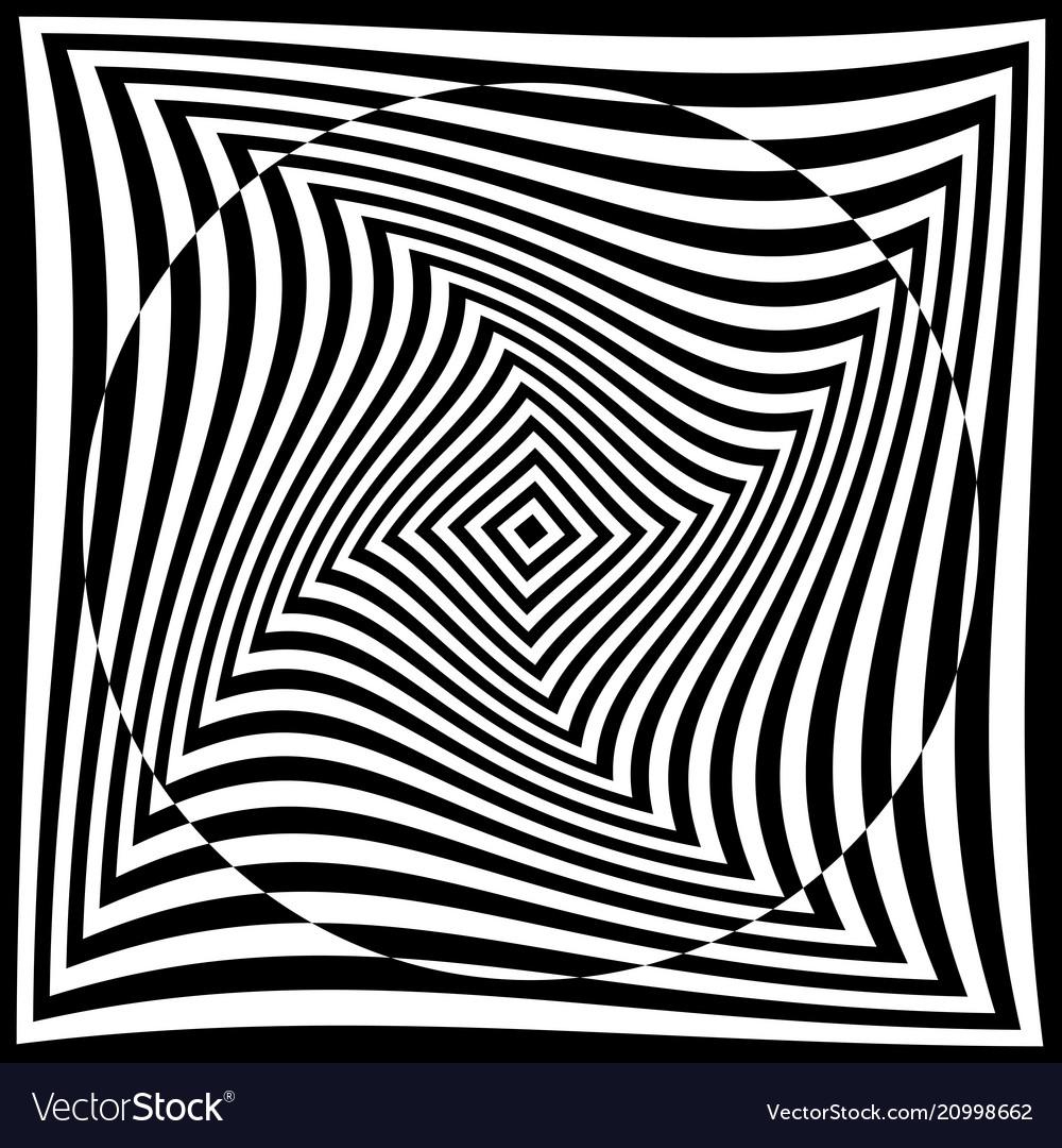 Torsion pattern optical geometric design