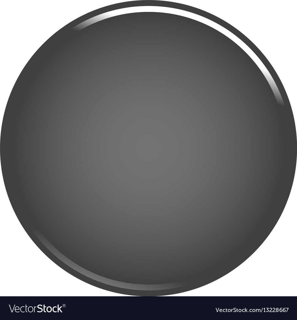 gray circle button blank web internet icon vector image