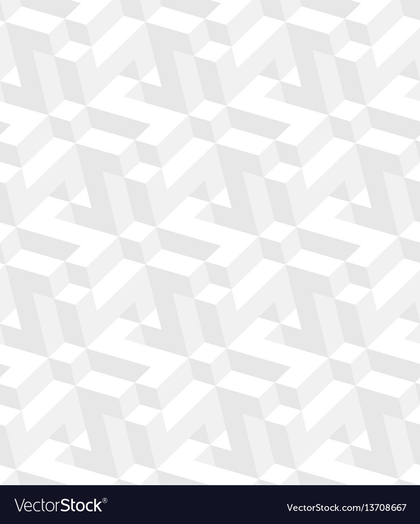 Isometric seamless pattern
