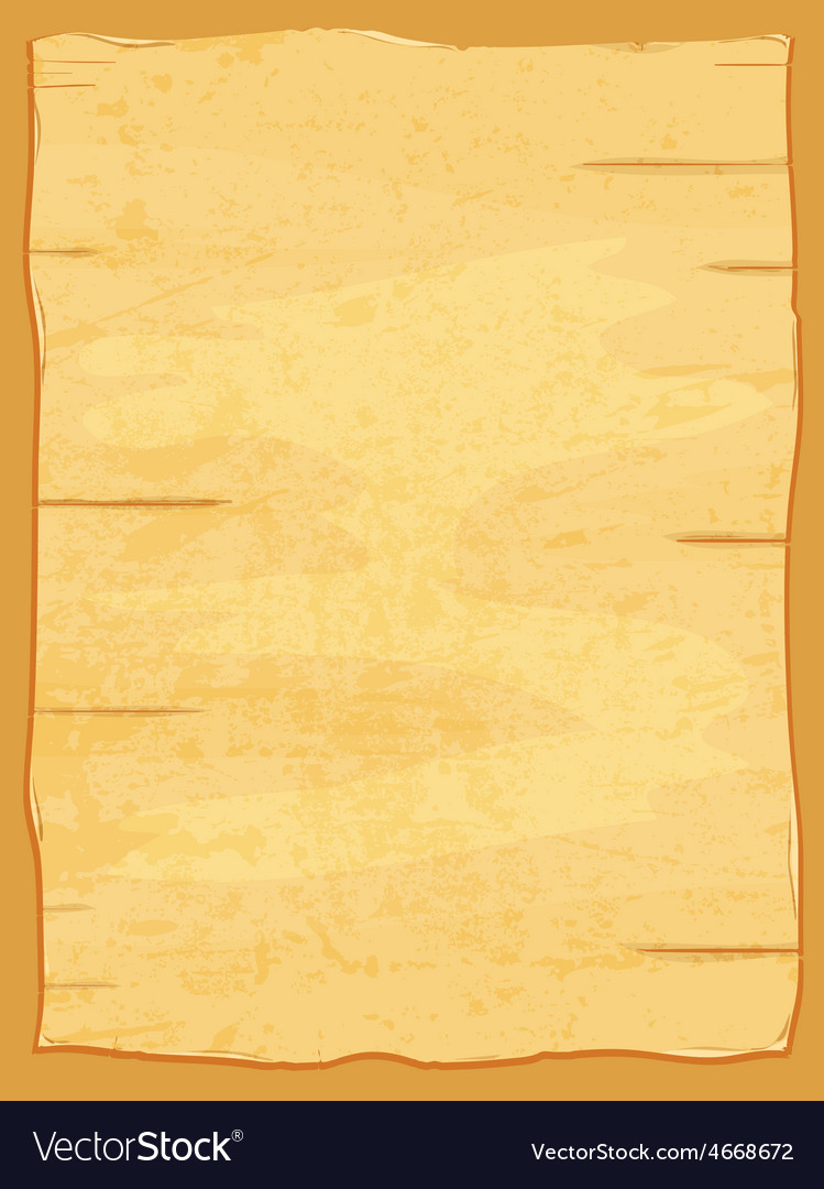 Yellow crumpled papyrus paper Old sheet