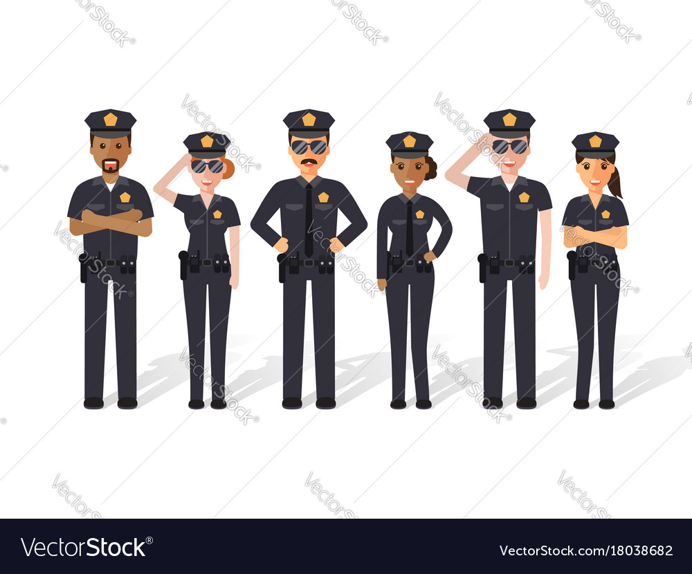 Police men and women