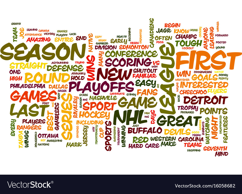 The nhl playoffs are here does anyone care text