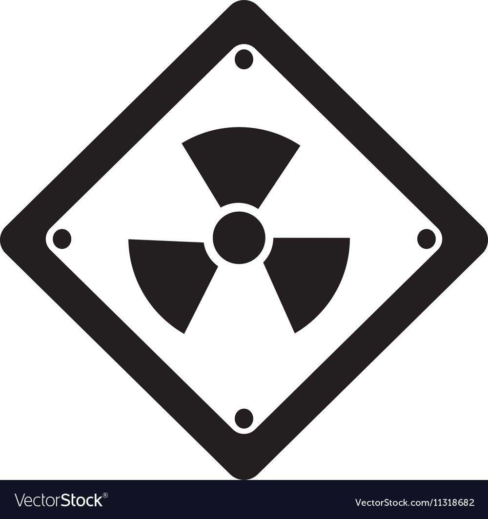 toxic symbol icon image royalty free vector image