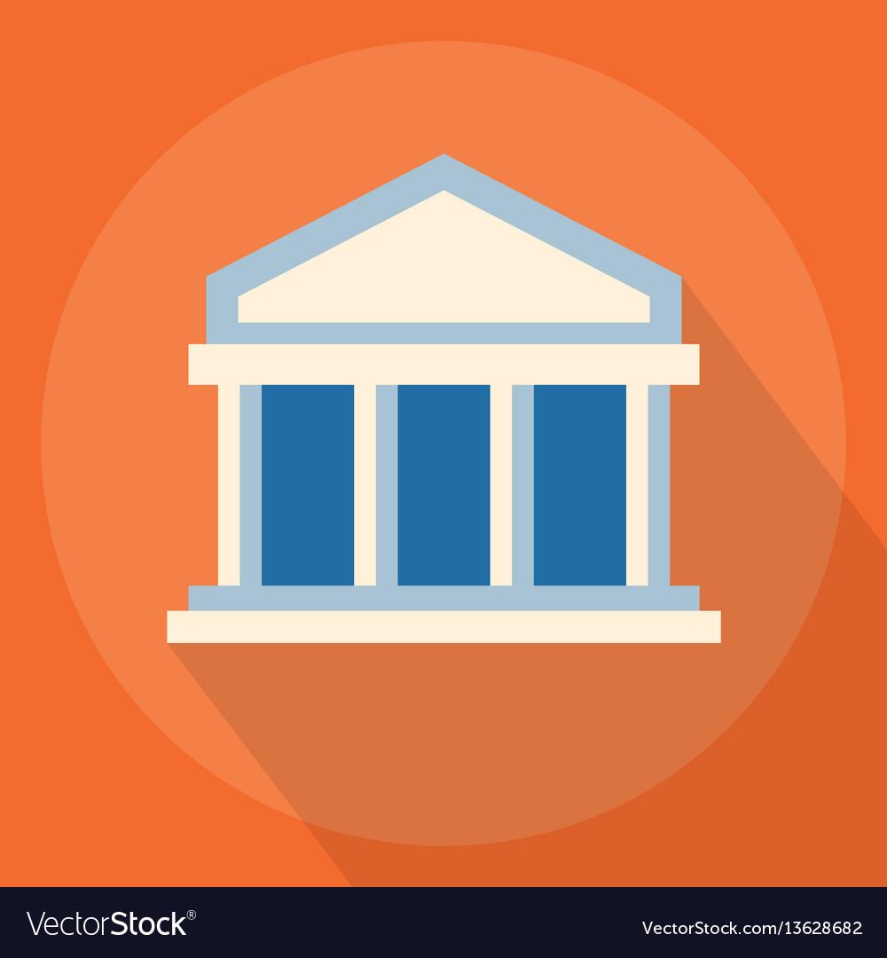 University or bank vector image