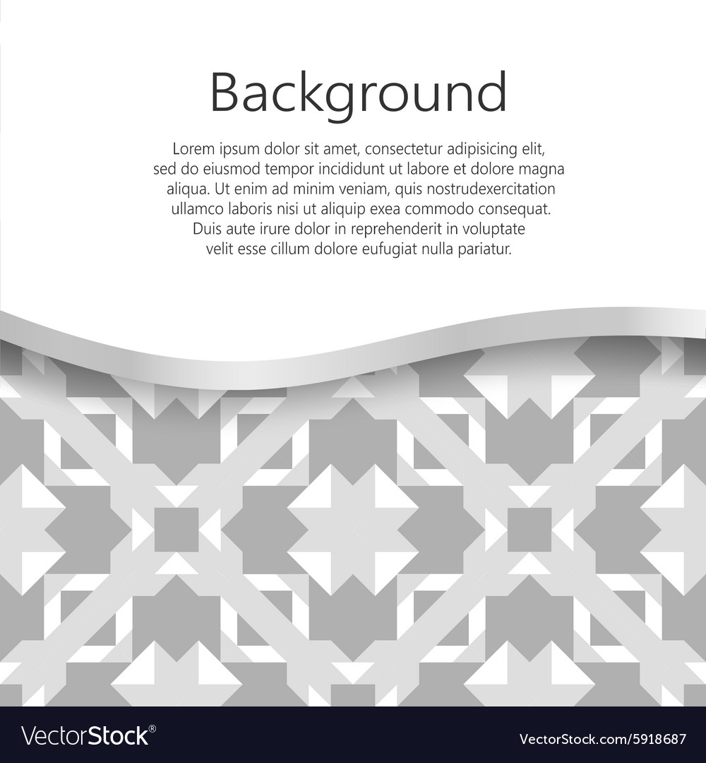 Abstract background booklet list