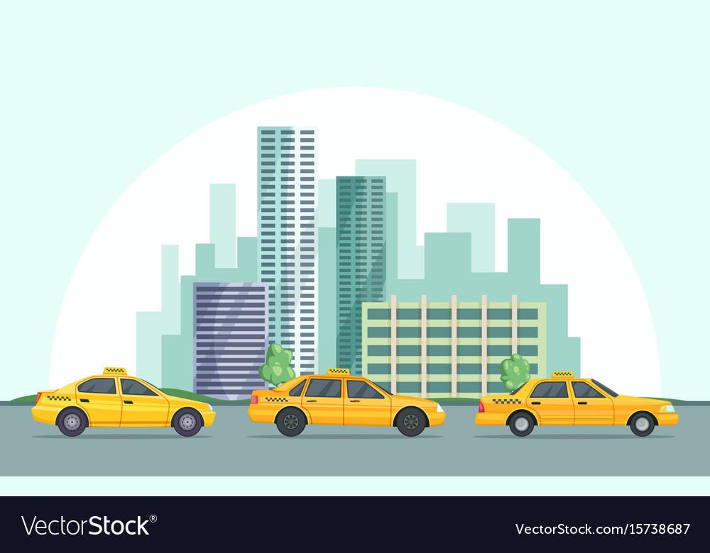 Background of modern urban