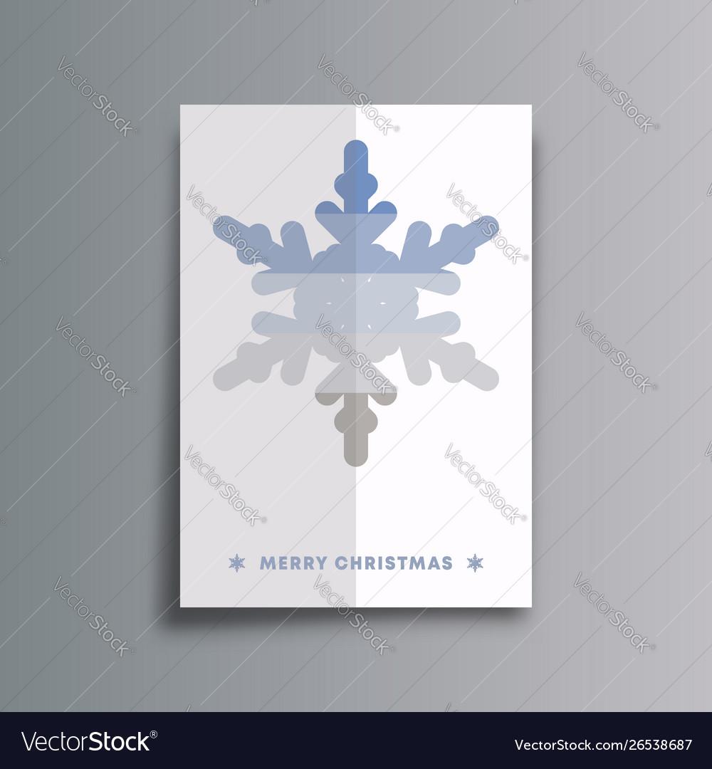 Merry christmas background template minimal design