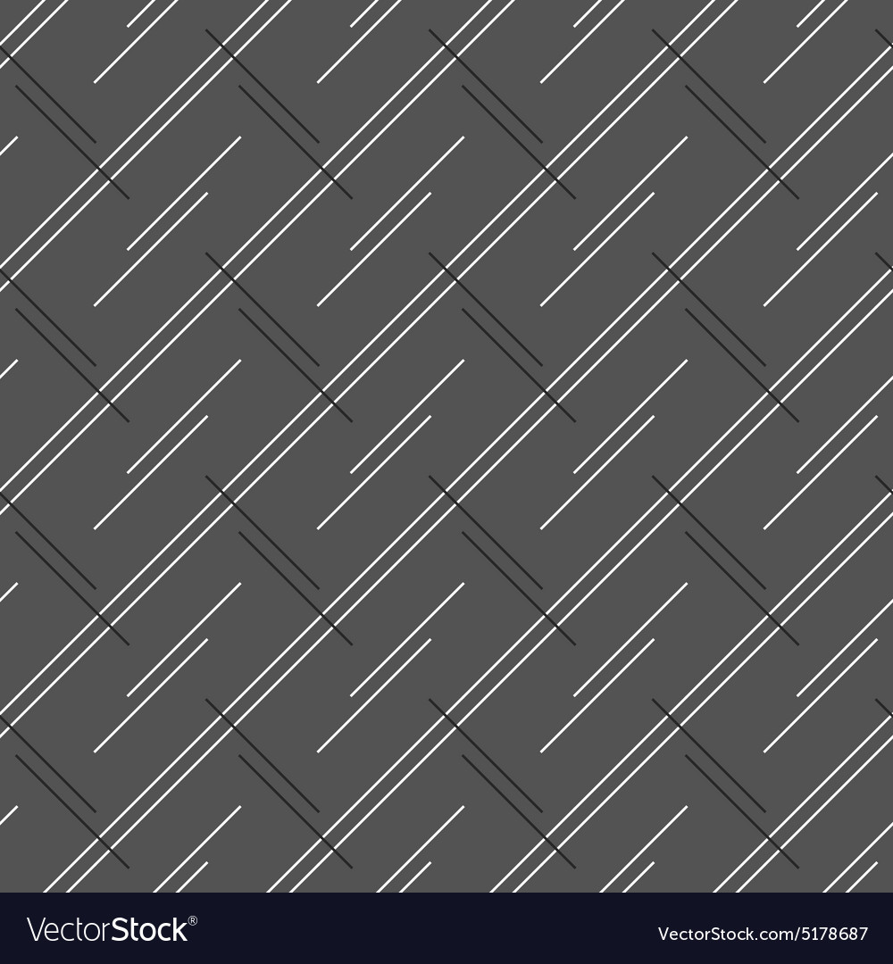 Monochrome pattern with doubled strips forming