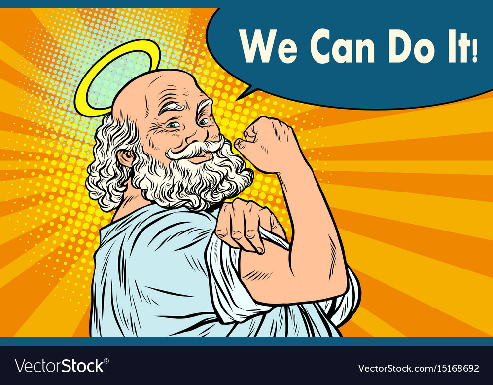 Mythical god we can do it