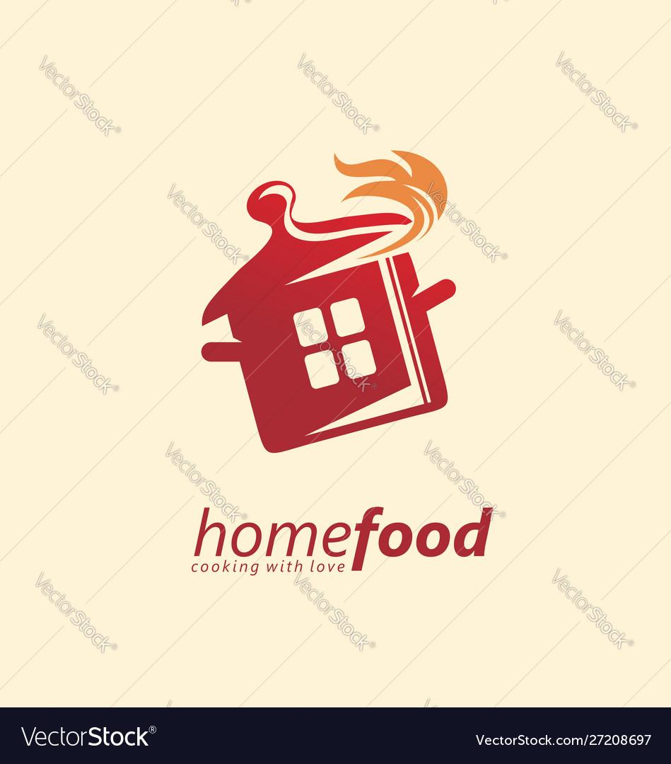 Home cooking logo design idea