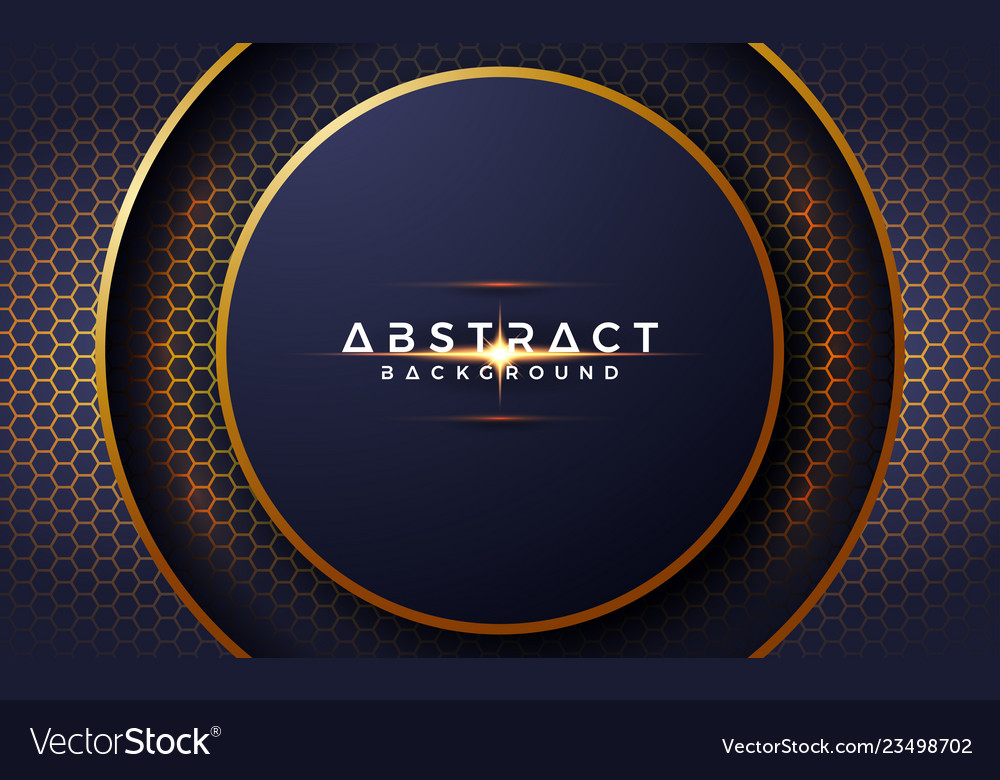 Abstract luxurious modern 3d circle background