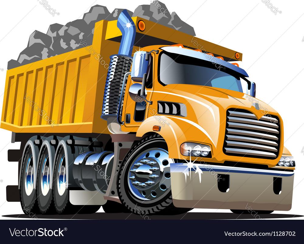Cartoon Dump Truck