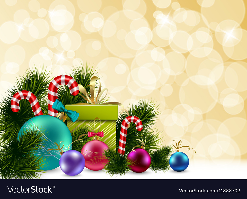 Colorful Christmas Background Design.Colorful Christmas Background