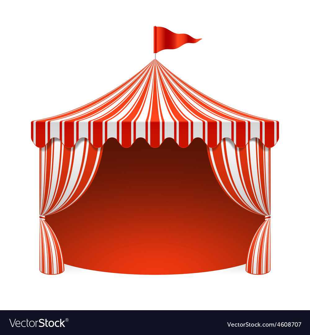 Circus tent Royalty Free Vector Image