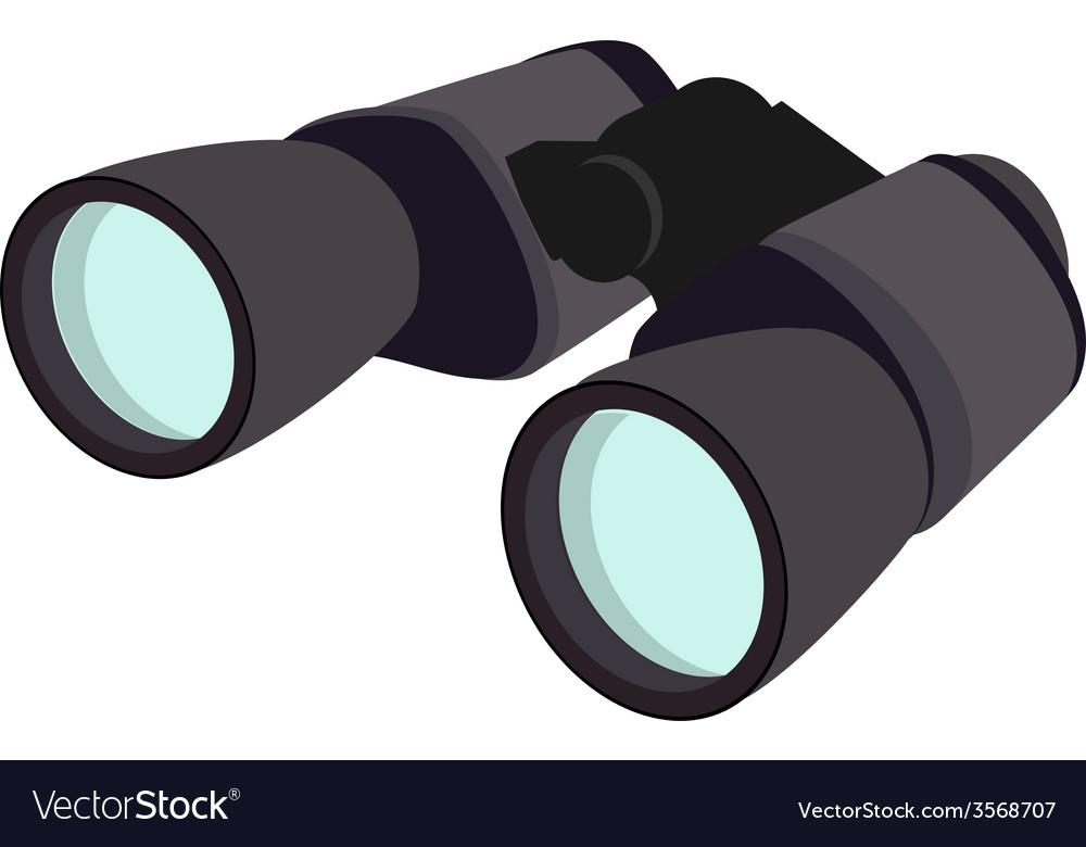 Grey binocular