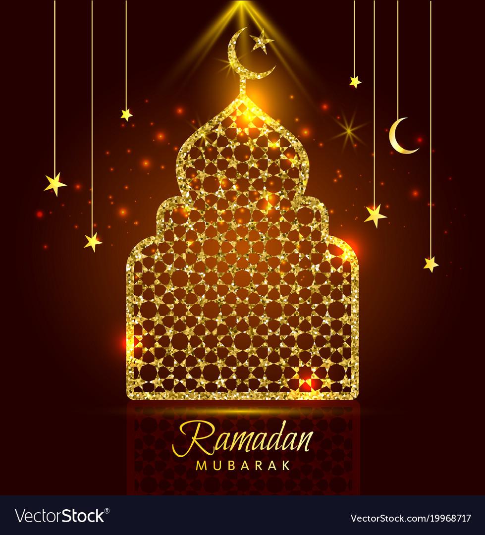 Holy month of muslim community ramadan kareem