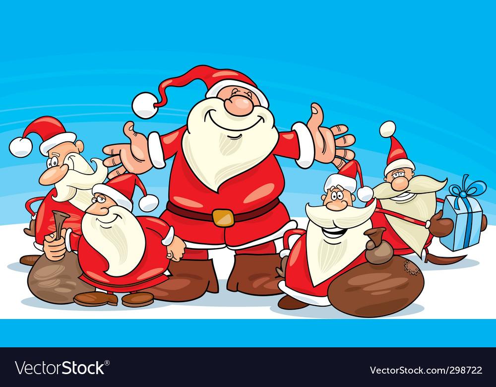Santa Claus group