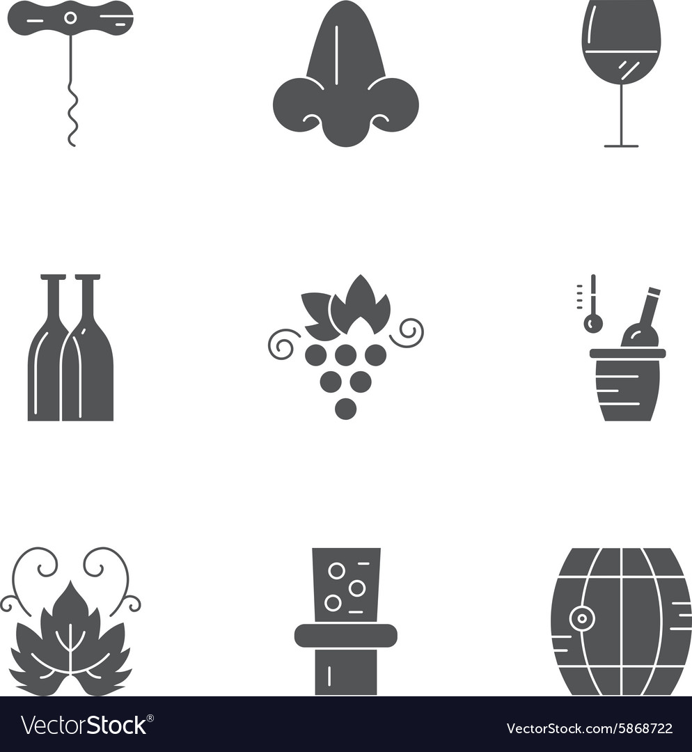 Wine Icon Collection