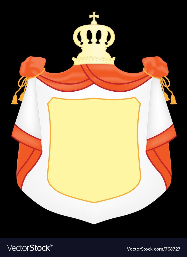 Empty coat arms