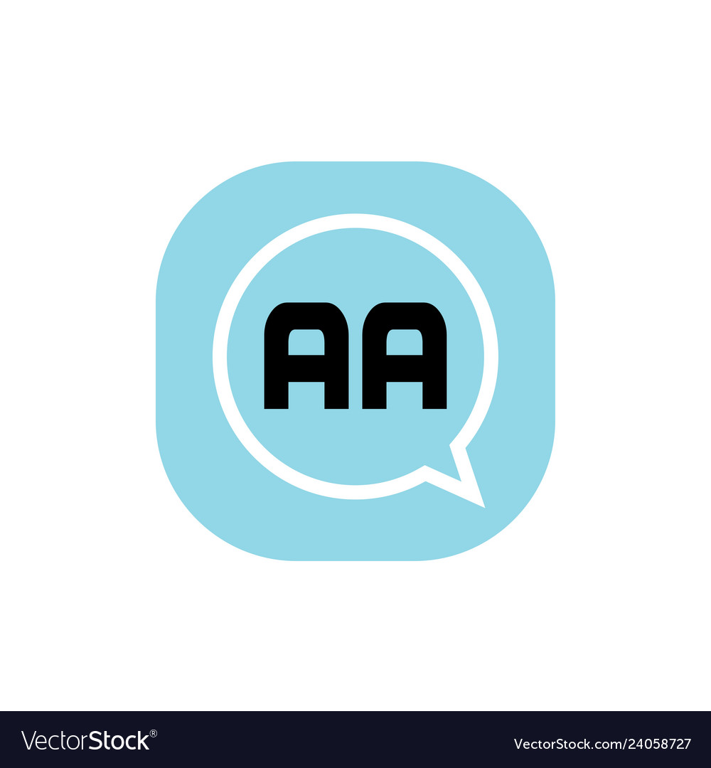 Initial Letter Logo Aa Template Design