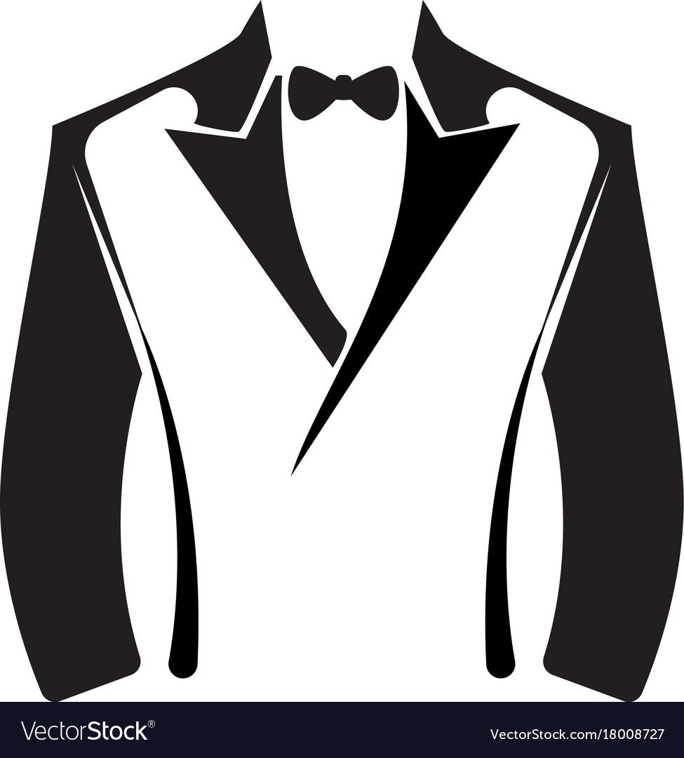 Tuxedo logo template royalty free vector image tuxedo logo template vector image maxwellsz