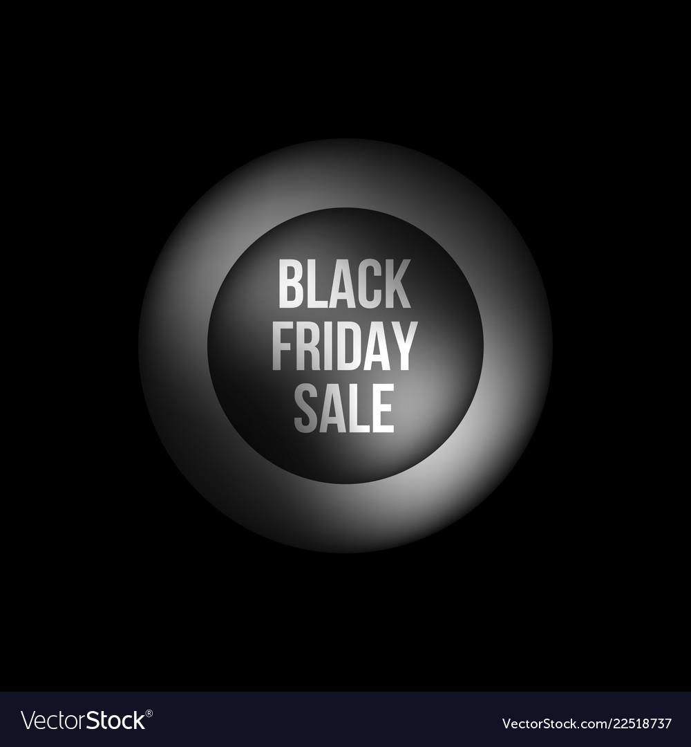 Black friday sale premium bubble badge template
