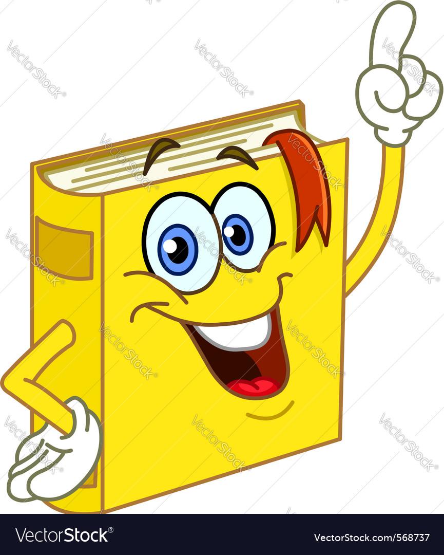 book cartoon royalty free vector image vectorstock rh vectorstock com vector book cover design vector books bayonne