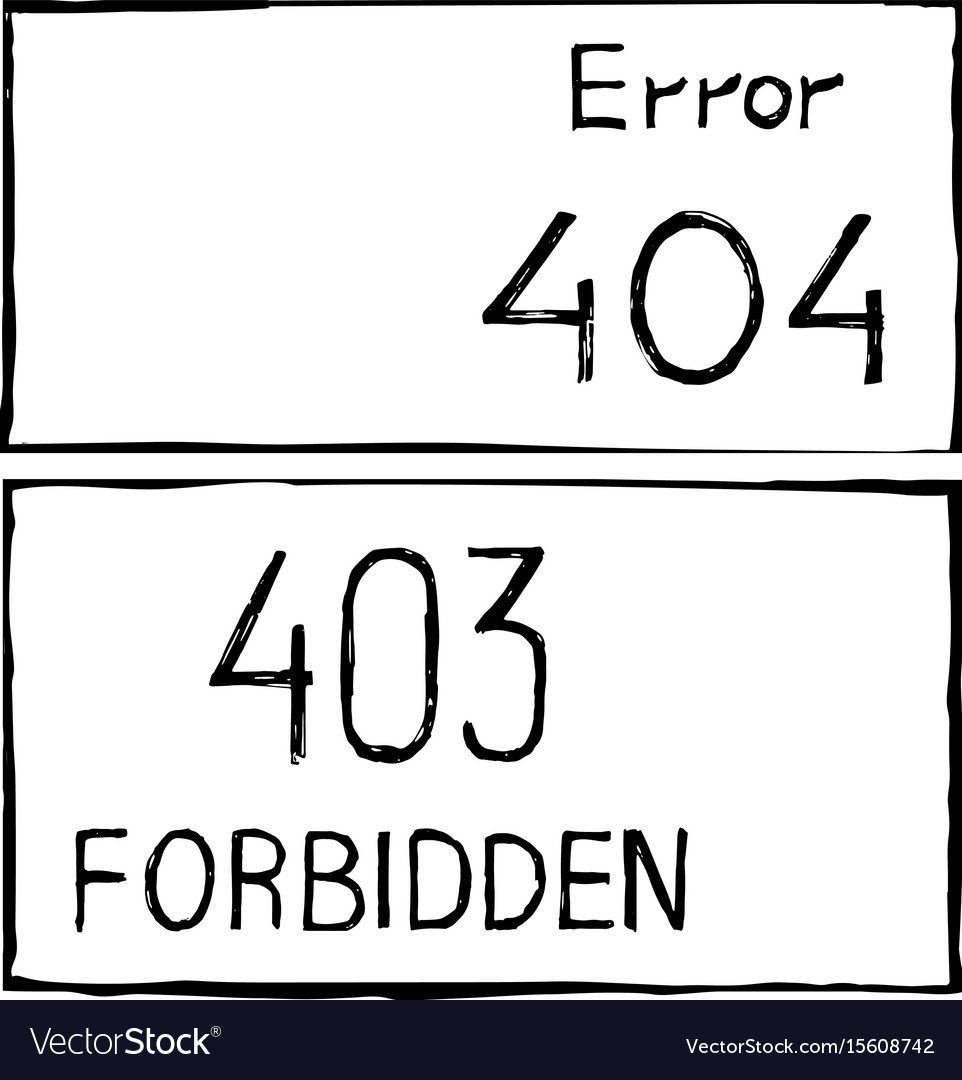404 and 403 connection error