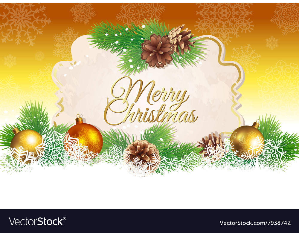 Christmas and new year greeting card royalty free vector christmas and new year greeting card vector image m4hsunfo