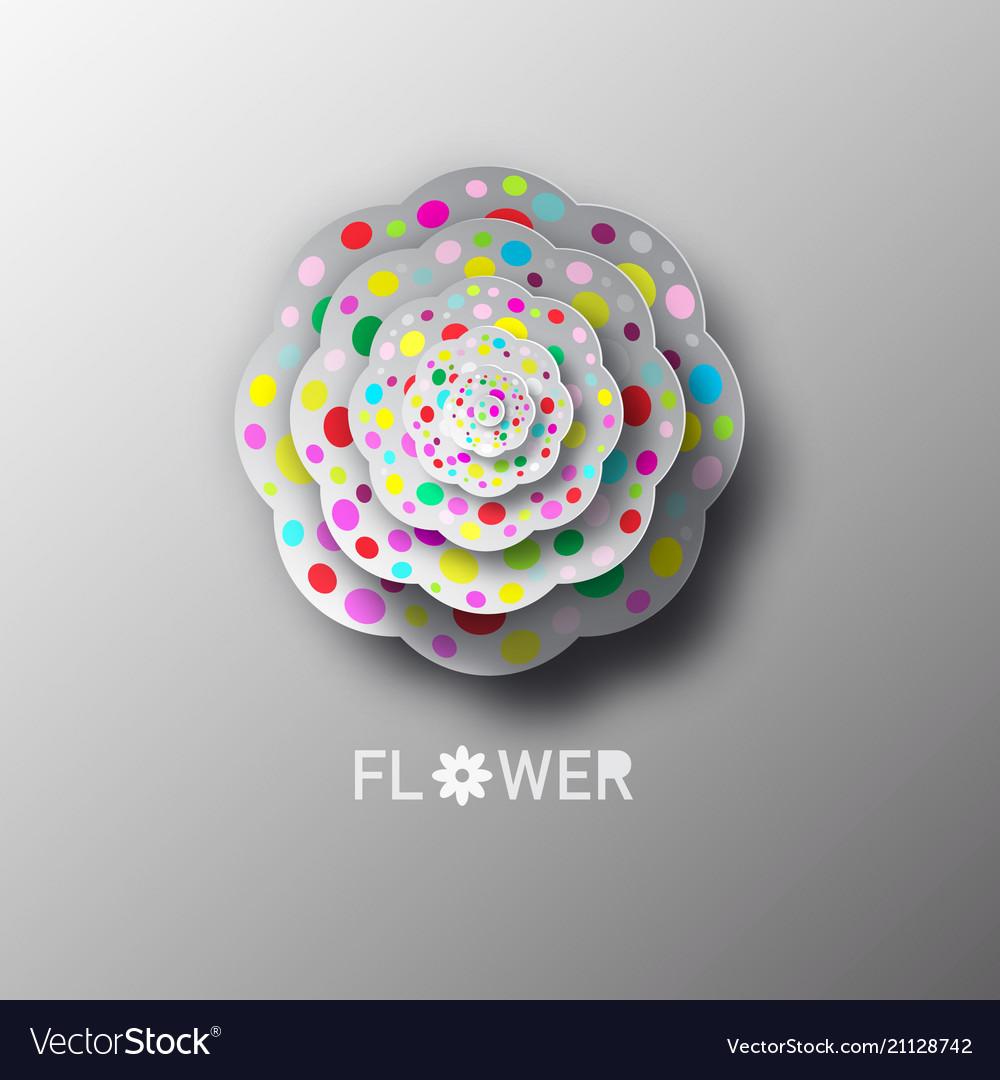 Paper cat flower