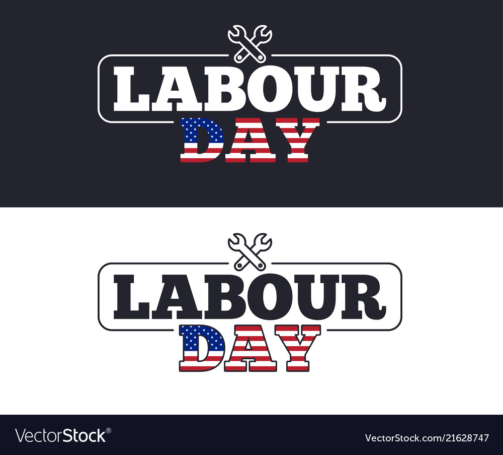 Labour day slogan for t-shirt printing design tee