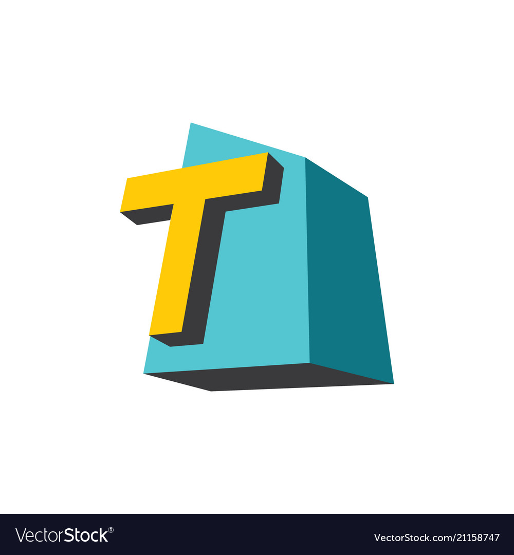 Sign of the letter t