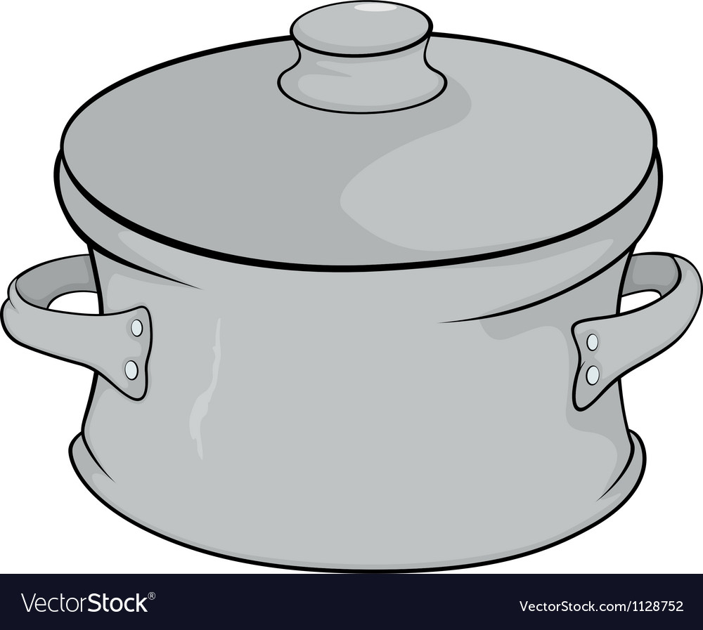 Cookware cartoon vector image