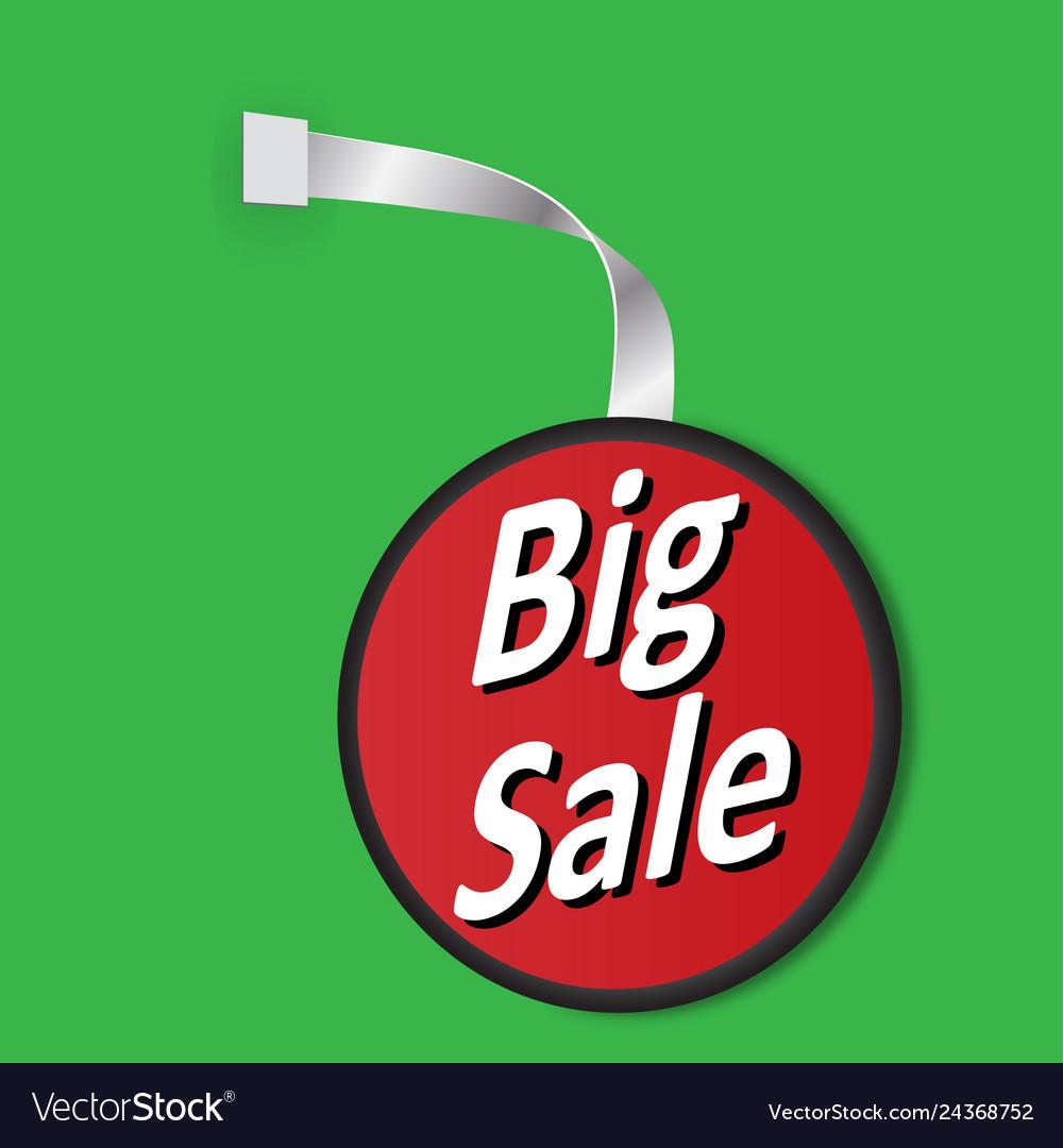 Leyba big sale on a green background
