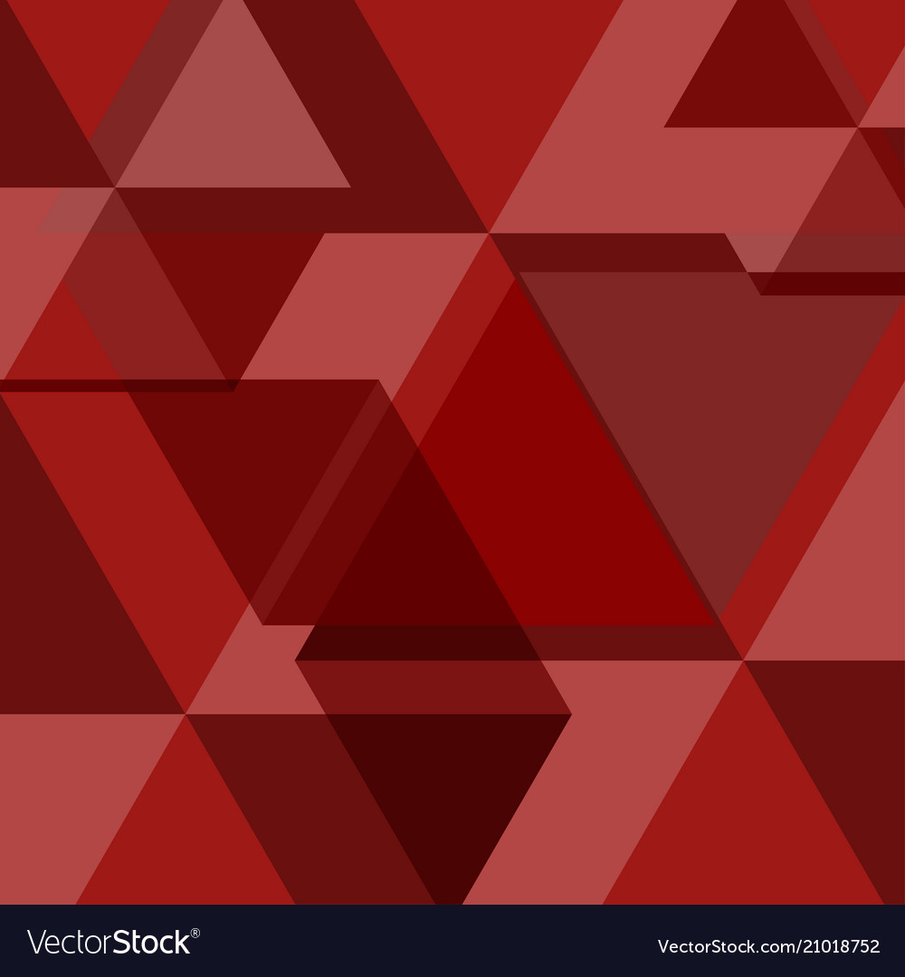 Red abstract square background