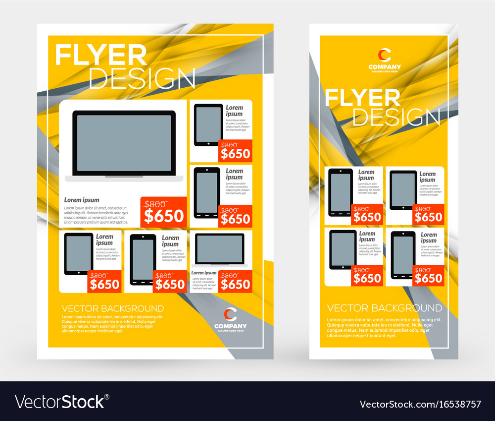Abstract business brochures cover or banner