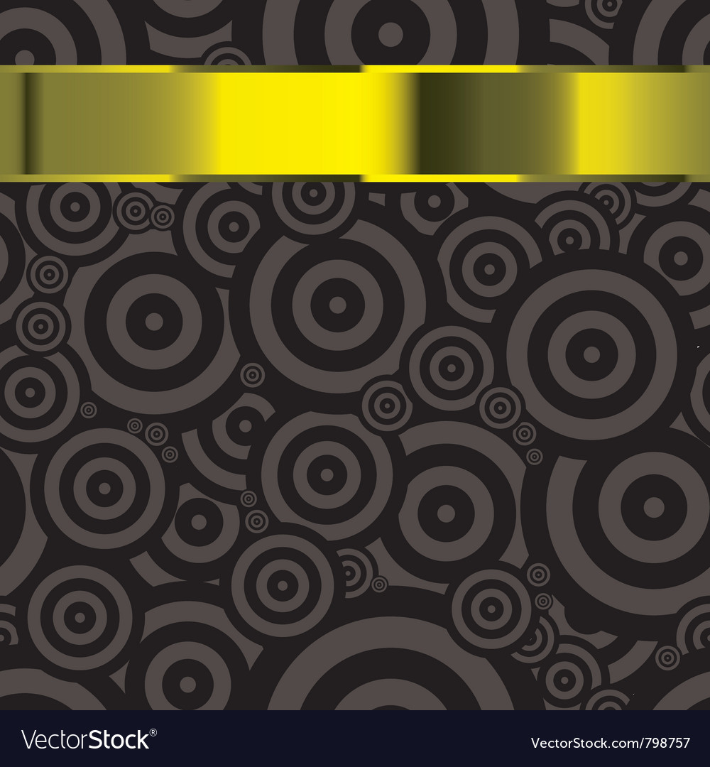 Black modern wallpaper template with copyspace for vector image