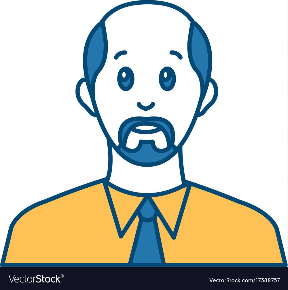 Businessman avatar cartoon
