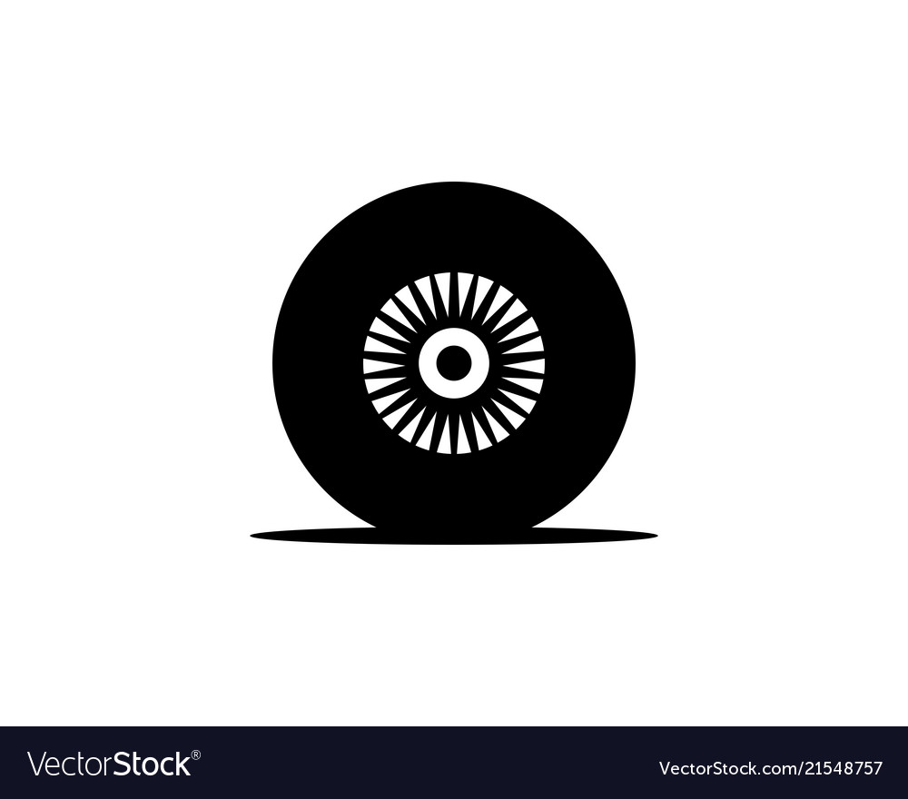 Car tire logo