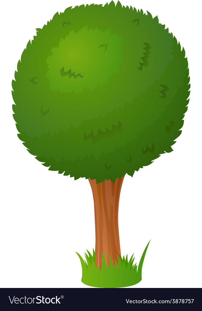 Cartoon Tree Royalty Free Vector Image Vectorstock Find & download free graphic resources for cartoon tree. vectorstock