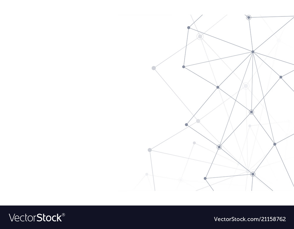 Connect line abstract background