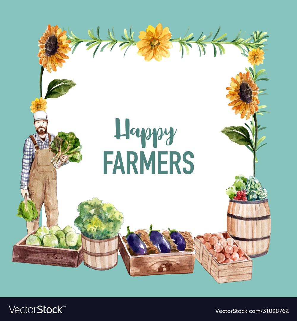 Farmer wreath design with sunflower onion