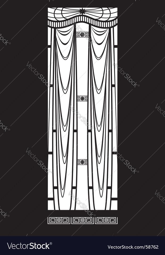 Grid vector image