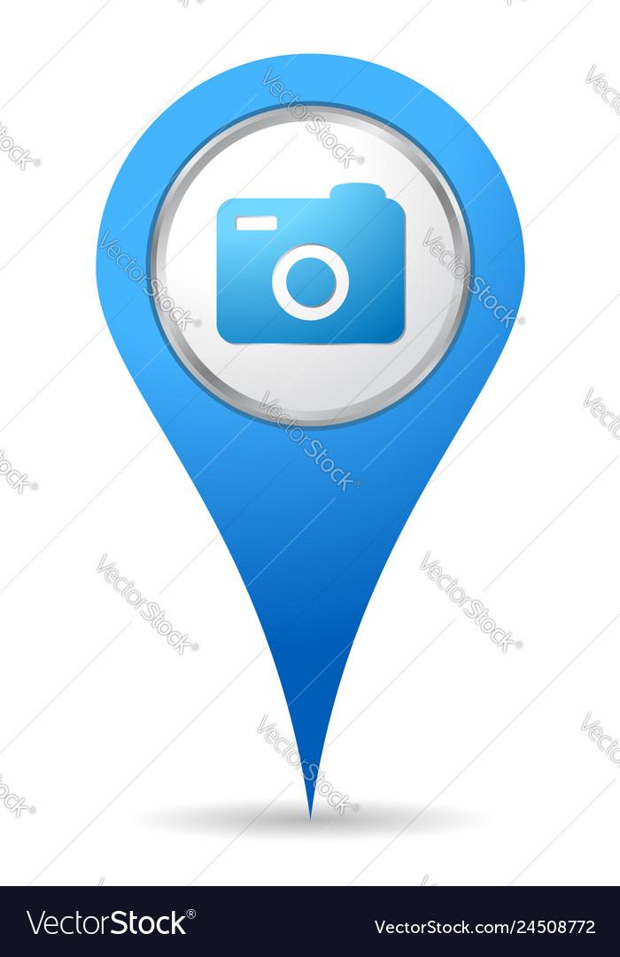 Location camera icon